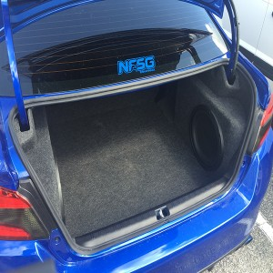 2014-2016 Chevy Impala Subwoofer Box & Custom Trunk