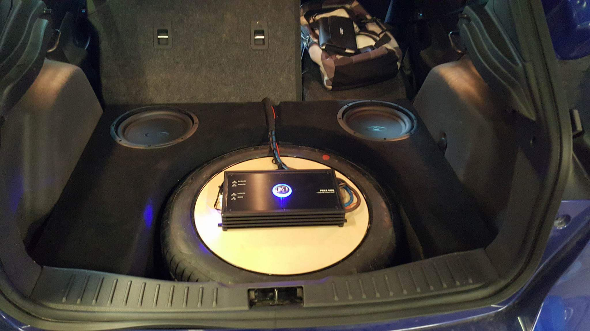 2012 2016 Ford Focus Subwoofer Box Phantom Fit Enclosure