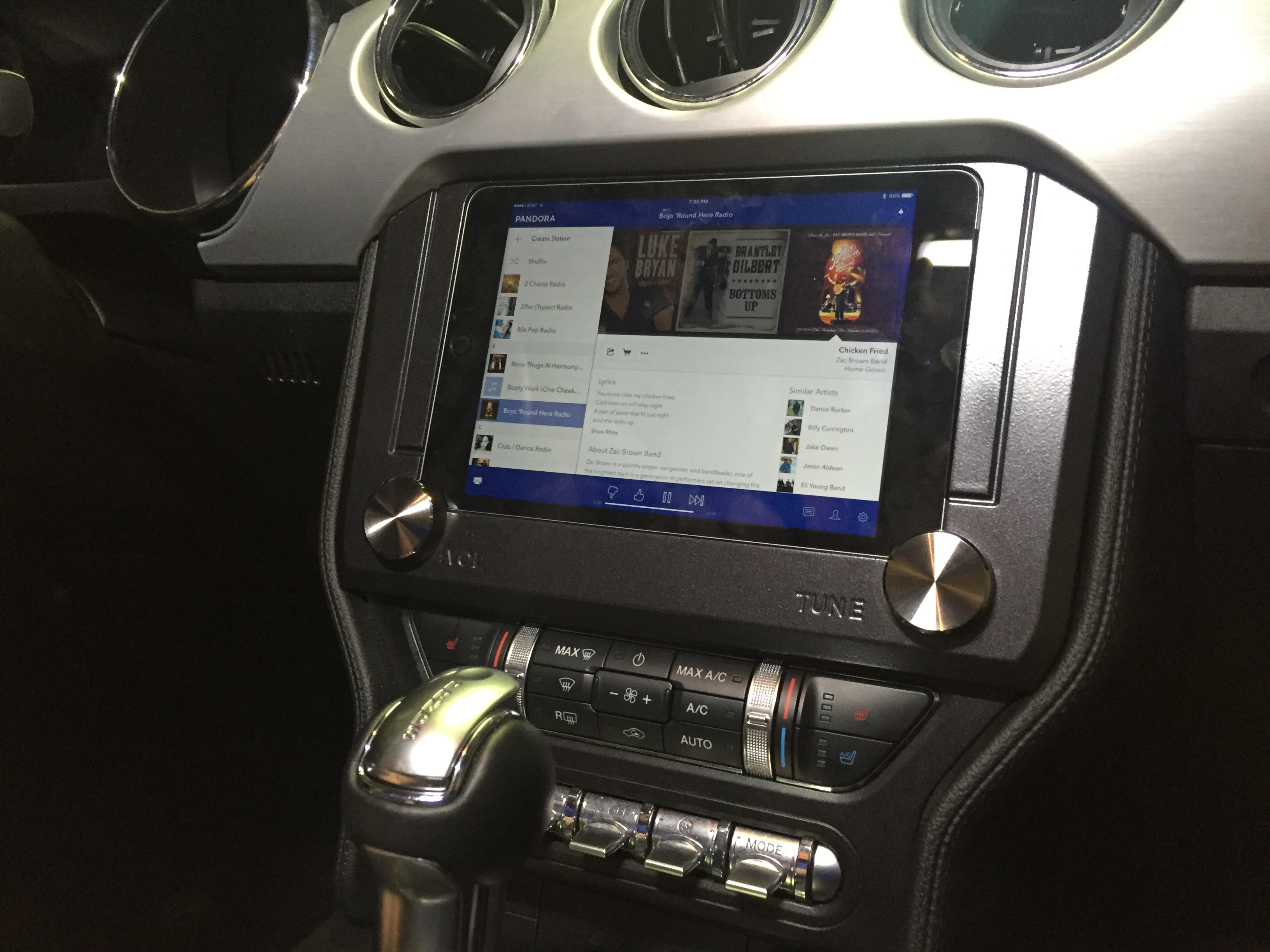 2015 17 Ford Mustang Ipad Mini Amp Nexus 7 Dash Kit