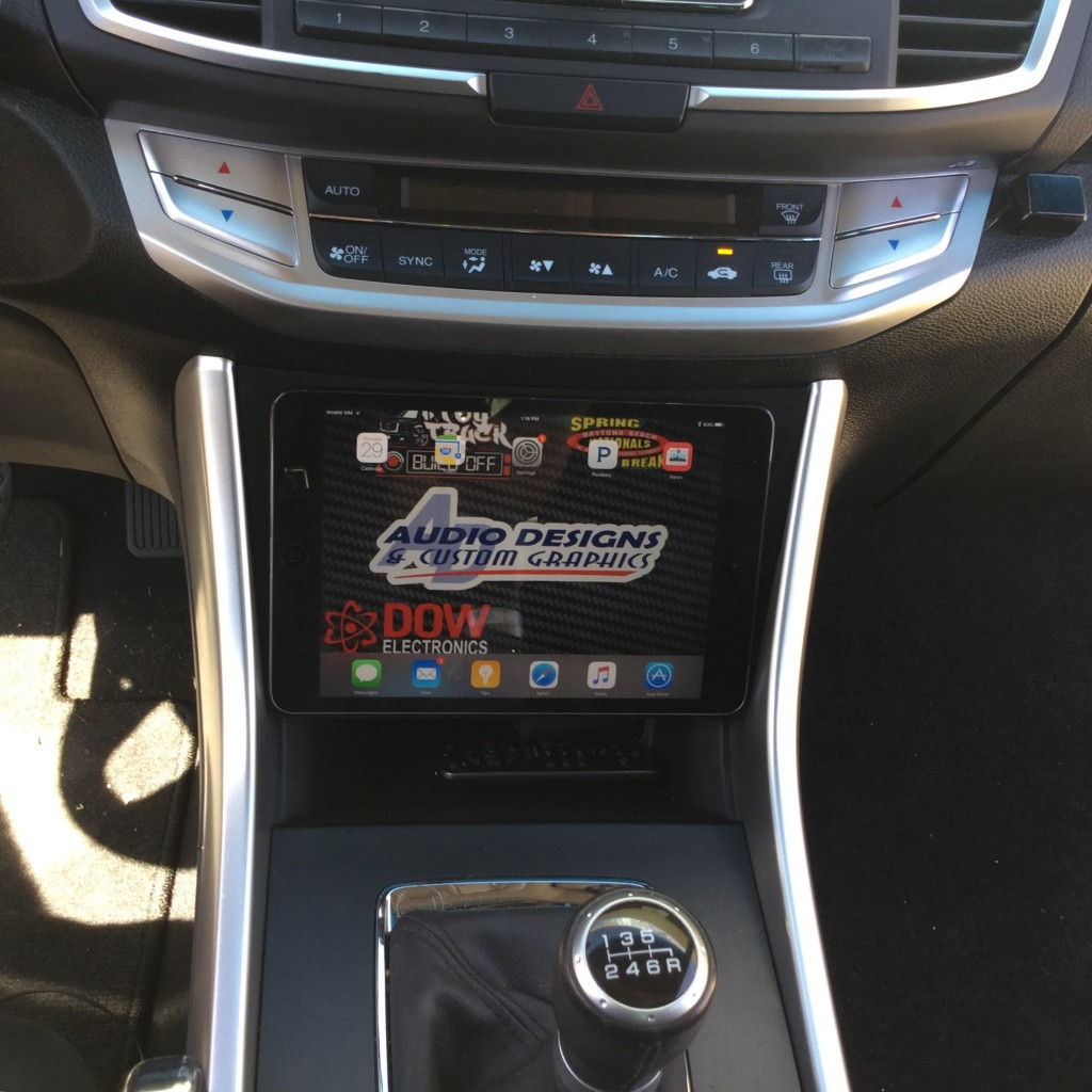 Car Vinyl Wrap For Sale >> 13-17 Honda Accord iPad Mini/Nexus 7 Dash Kit ...