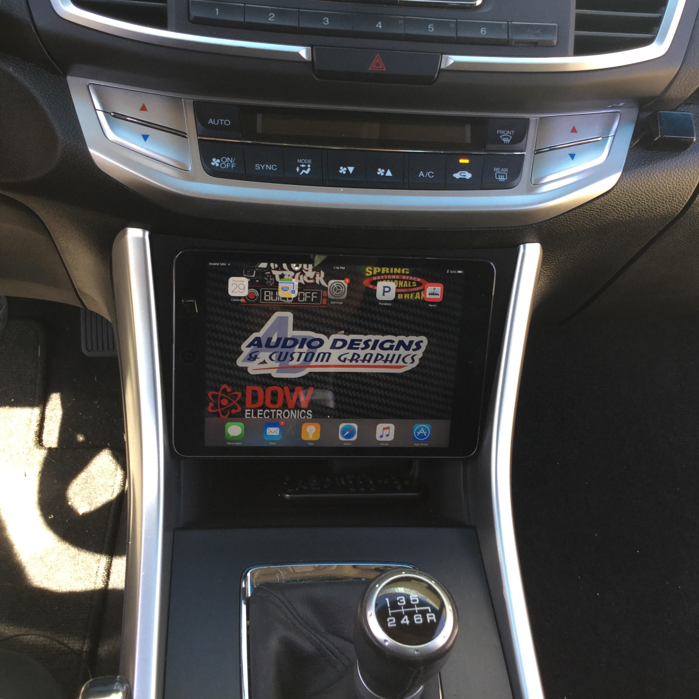 13 17 Honda Accord Ipad Mini Nexus 7 Dash Kit