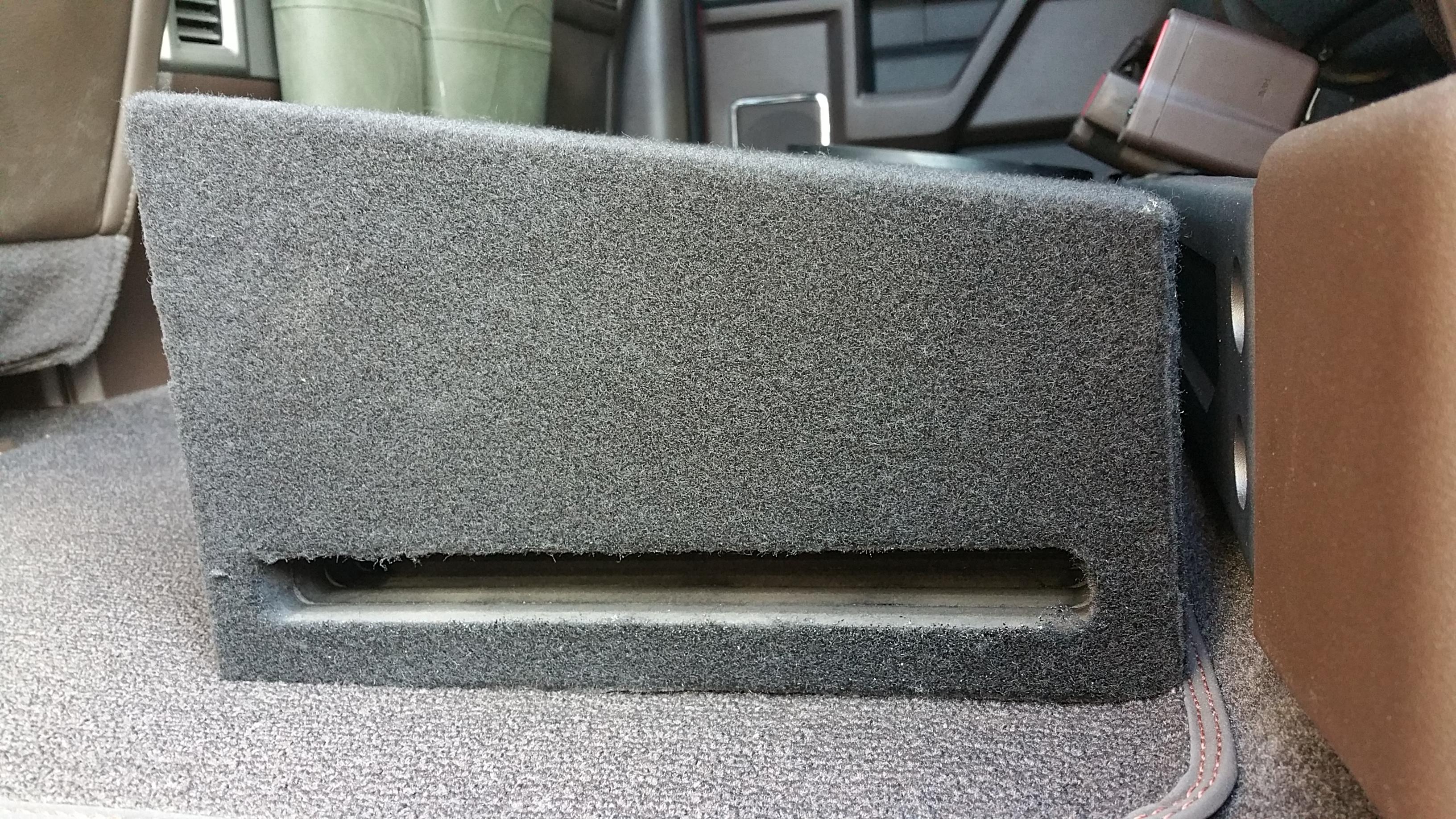 2015-17 Ford F150 Subwoofer Box
