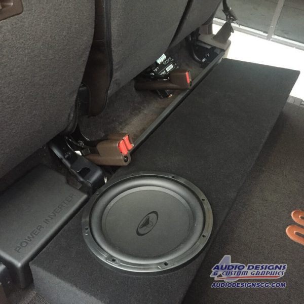 2015 19 Ford F150 Subwoofer Box