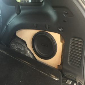 Jeep Grand Cherokee Subwoofer Box