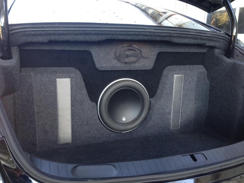 2014 2016 Chevy Impala Subwoofer Box Amp Custom Trunk