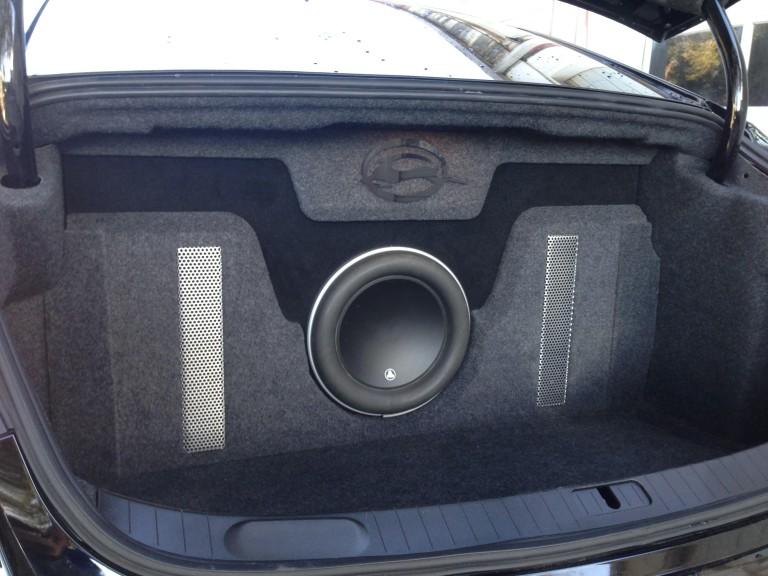 2014 2016 Chevy Impala Subwoofer Box Amp Custom Trunk