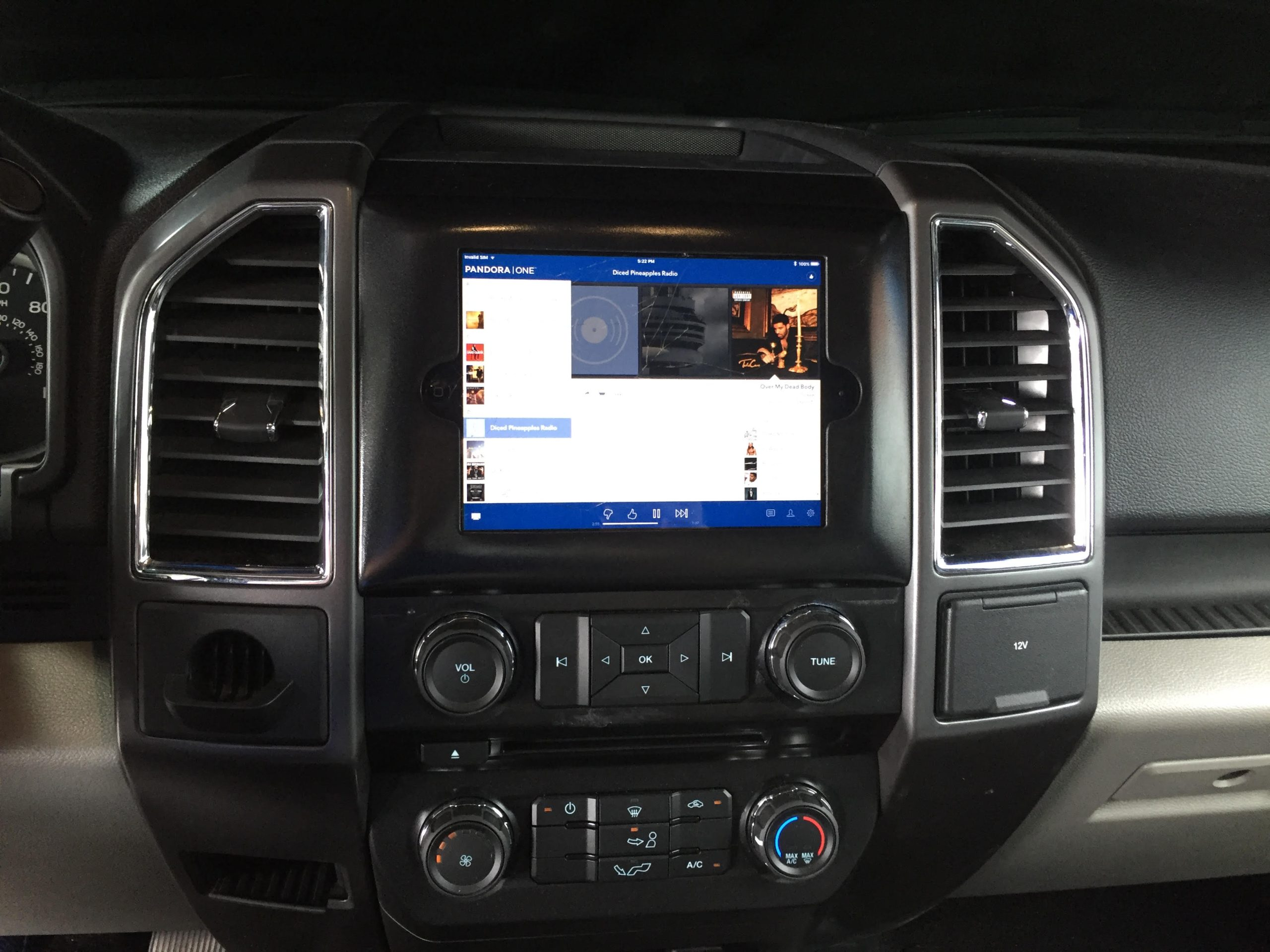 2009 2014 Ford F150 iPad Mini Dash Kit AudioDesigns CG Store