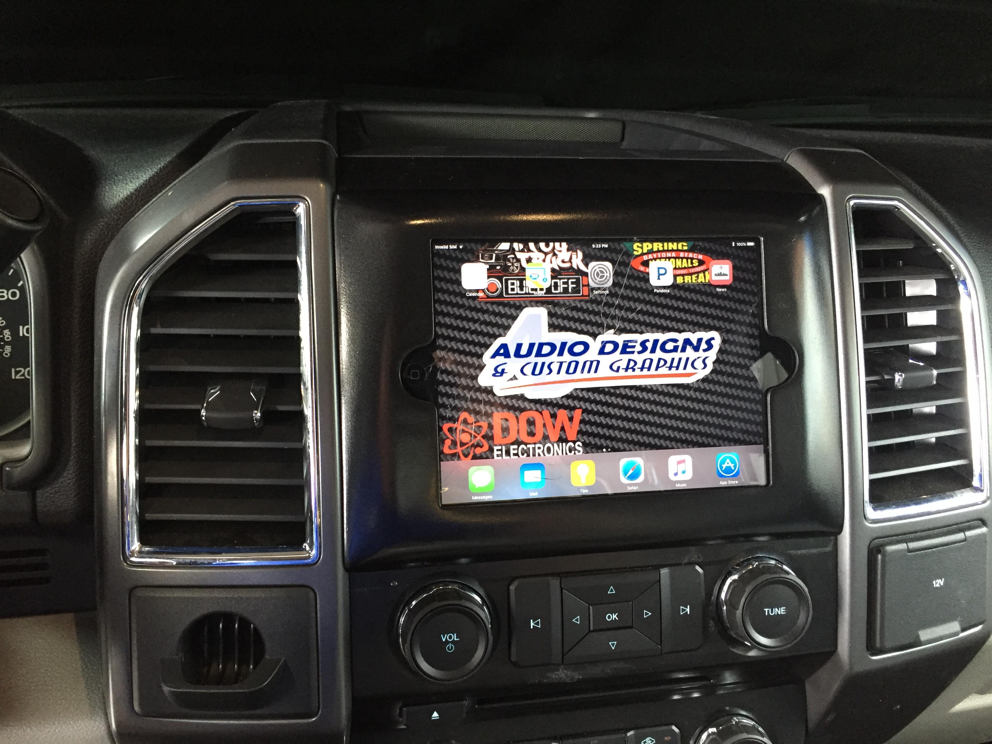 2015 2016 2017 Ford F150 Ipad Mini Dash Kit Audiodesigns