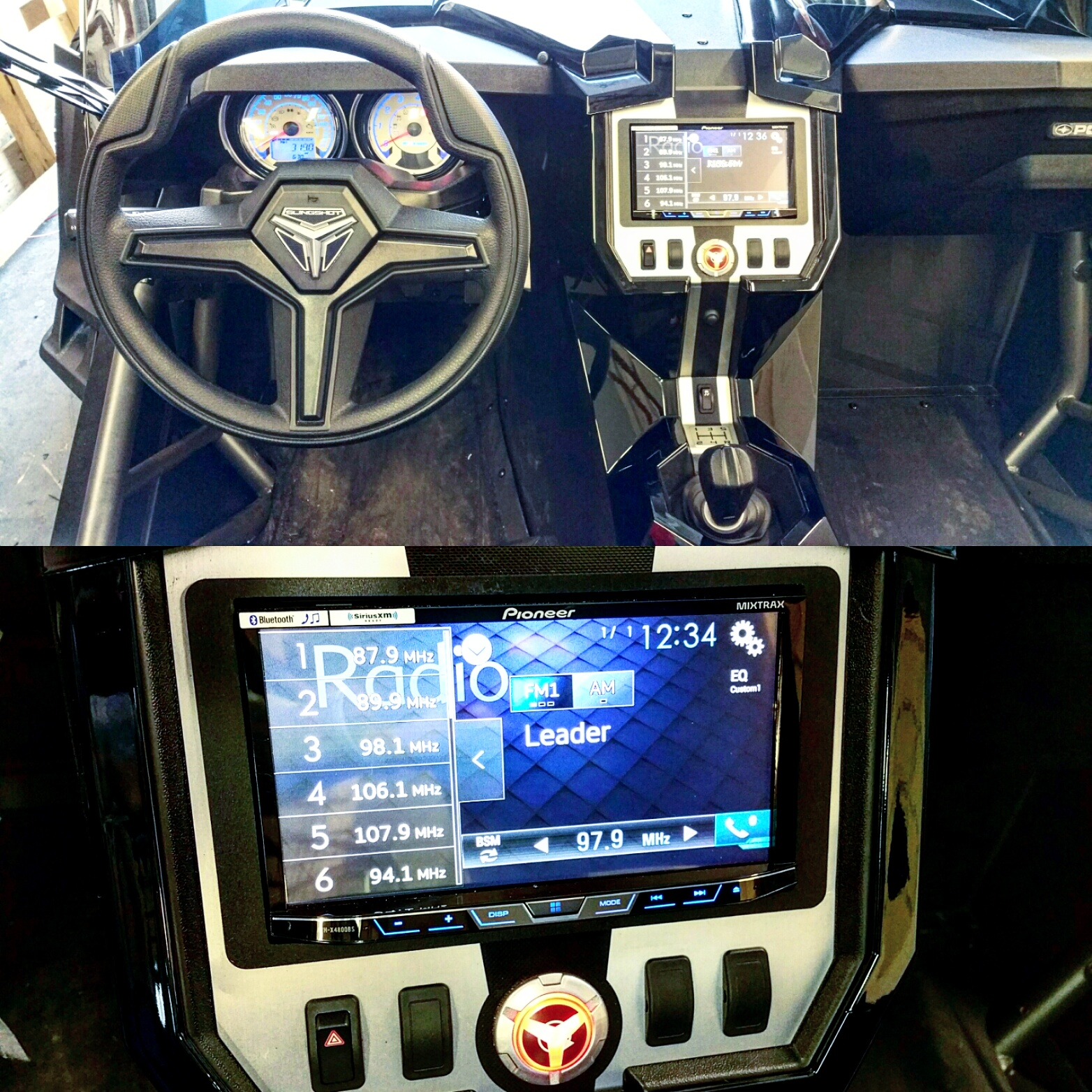 Polaris Slingshot Dash Kit