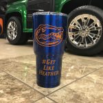 FL Gators Custom Tumbler