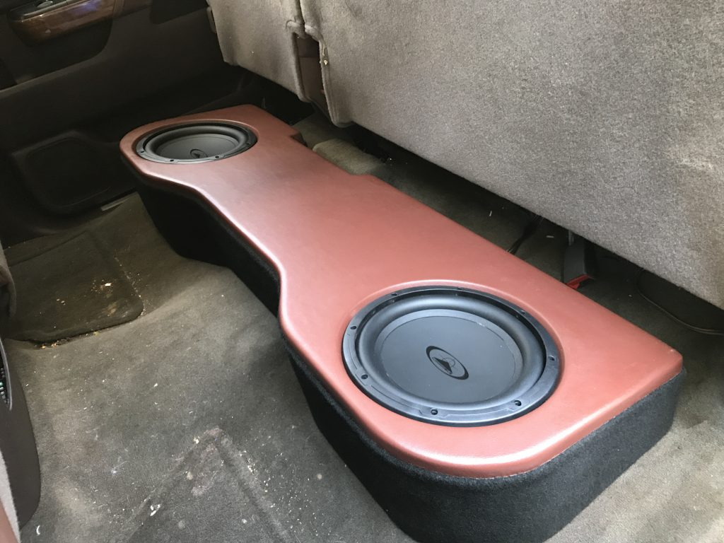 Chevrolet Silverado Underseat Subwoofer Enclosure