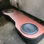 Chevy Silverado Sub Enclosure