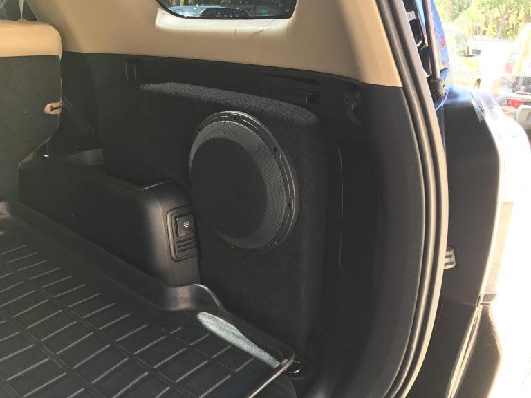 2010 2018 Toyota 4Runner Phantom Fit Sub Enclosure