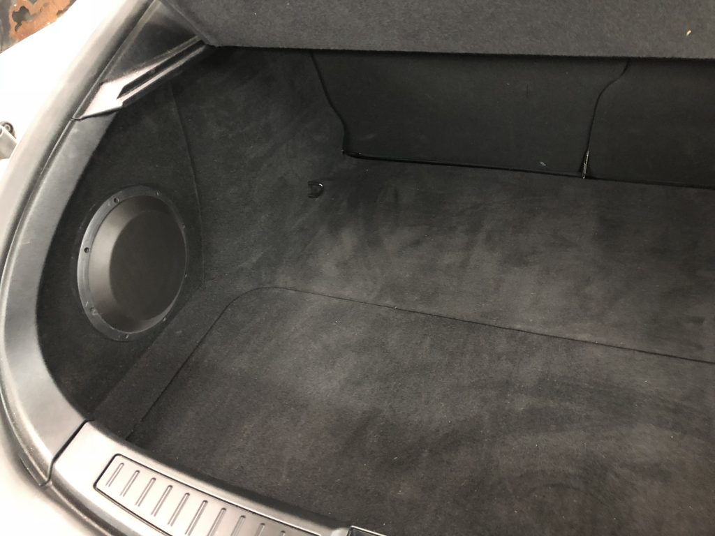 Tesla Model S Subwoofer Enclosure Box Audiodesigns