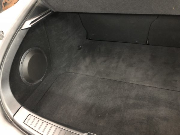 Tesla Model S Custom Subwoofer Enclosure for sale