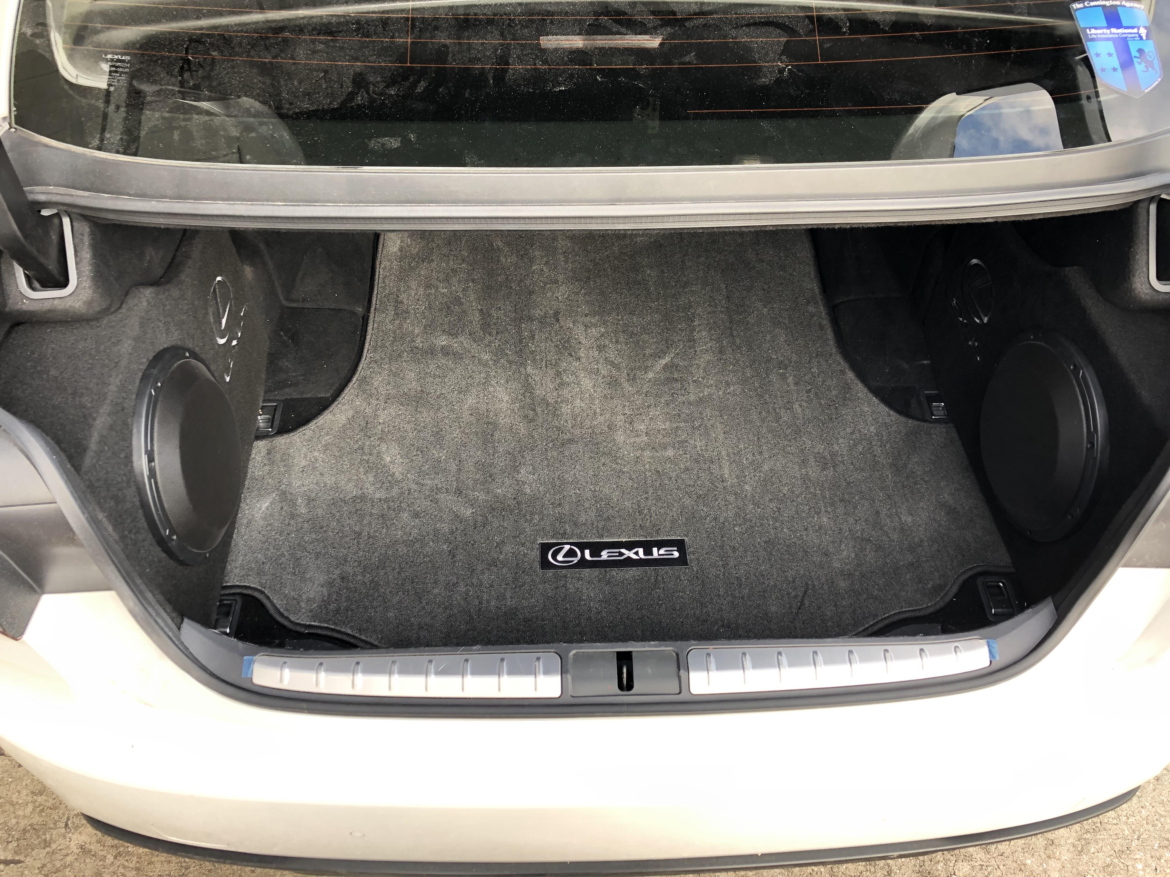 Lexus LS Custom Enclosure