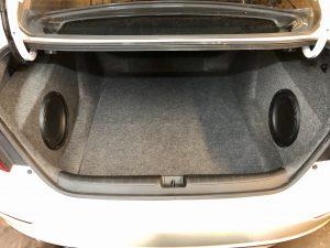 Honda Accord subwoofer enclosure