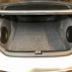 Honda Accord subwoofer enclosure