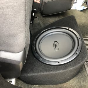 Silverado Double Cab Subwoofer Enclosure